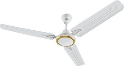 Eveready Super Fab m White 1200 mm 3 Blade Ceiling Fan(White, Pack of 1) at flipkart