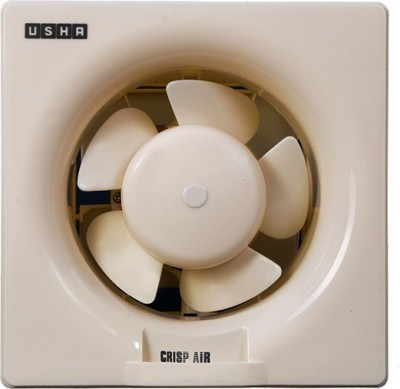 Usha Crisp Air 200 5 Blade Exhaust Fan(Beige)  available at flipkart for Rs.1250