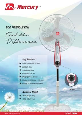 Mercury-MS40-18C-Rechargeable-Pedestal-Fan-(18-Inches)