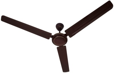 Usha Swift 1400 mm 3 Blade Ceiling Fan(Brown) at flipkart