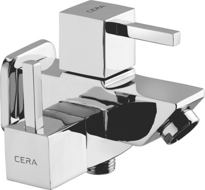 CERA F1004161 Quartet 2-In-1 Bib Cock With Aerator Mixer Faucet(Wall Mount Installation Type)  available at flipkart for Rs.2280