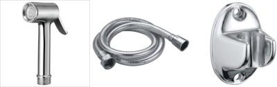 TMC Hf049 Regular brass health faucet with shower tube and hook Faucet(Wall Mount Installation Type) at flipkart