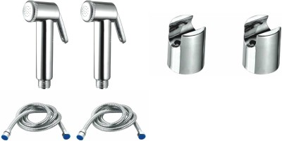 TMC T47 Admire Health Faucet With Hook And Shower Tube Set Of 2 Faucet(Wall Mount Installation Type) at flipkart