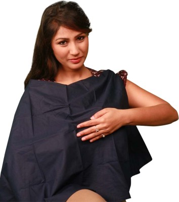 Vixenwrap Black Solid Feeding Cloak(Navy Blue)