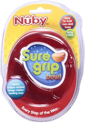 Nuby Microwavable Bowl  - Plastic(Multicolor)
