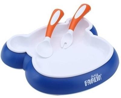 Farlin Anti Sleep Feeding Set(Blue)