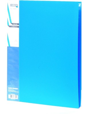 Chrome Files & Folders Plastic Display Book(Set Of 3, Blue)  available at flipkart for Rs.280