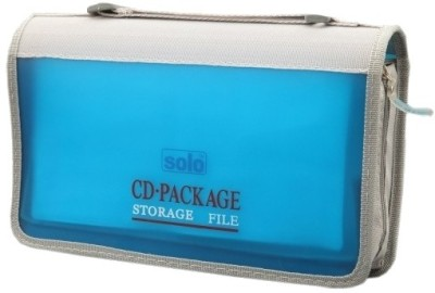 Solo Computer CD Wallet(Set Of 1, Frosted Blue)  available at flipkart for Rs.425