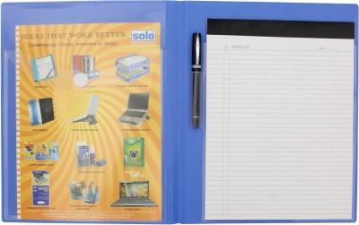 Solo Meeting Folder(Set Of 3, Blue)