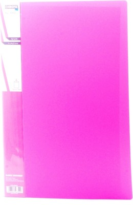 Chrome Files & Folders Plastic Display Book(Set Of 2, Pink)  available at flipkart for Rs.270
