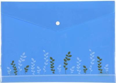 Saya Office Series Polypropylene Strip Files(Set Of 10, Natural)