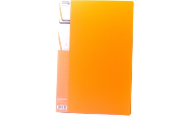 Chrome Files & Folders Plastic Display Book(Set Of 2, Orange)  available at flipkart for Rs.270