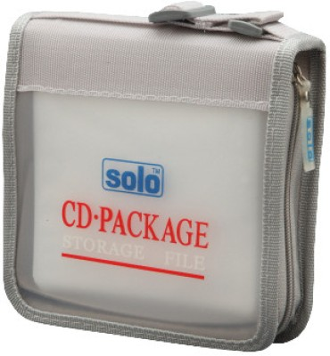Solo Computer CD Wallet(Set Of 3, Frosted White)  available at flipkart for Rs.444