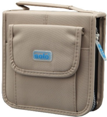 Solo Computer CD Wallet(Set Of 2, Khaki)  available at flipkart for Rs.530