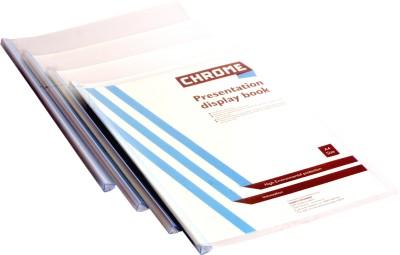 Chrome Super Series Polypropylene Report Files(Set Of 20, Transparent)
