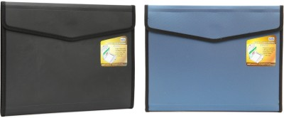 Solo Conference File(Set Of 2, Metallic Grey)