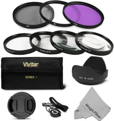 Goja 58Mm Professional Lens Filter And Close-Up Kit For Canon Eos Rebel Close-up Filter(58 mm)