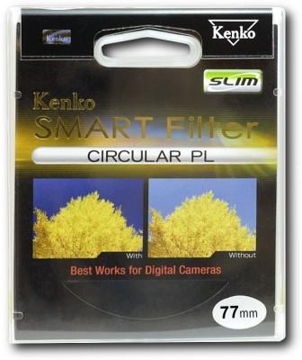 Kenko Smart Circular Pl Slim 77mm Polarizing Filter  CPL