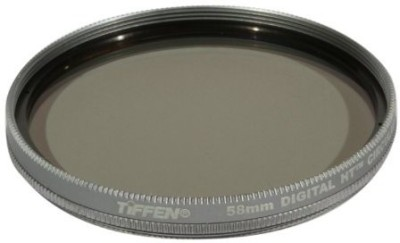 Tiffen 58Mm Digital Ht Circular Polarizer Titanium Filter Polarizing Filter (CPL)(58 mm) at flipkart