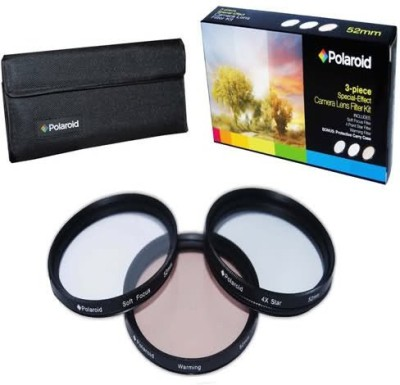 Polaroid Optics 49Mm 3 Piece Special Effect Camera/Camcorder Lens Filter Kit Special Effects Filter(49 mm)