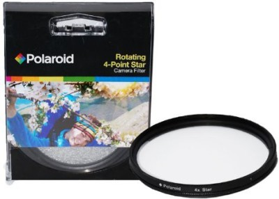 Polaroid Optics 52Mm Rotating 4 Point Star Filter Star Effects Filter(52 mm)