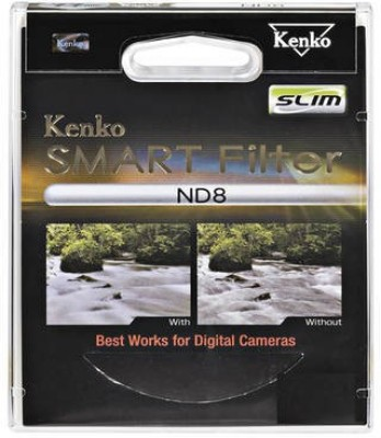 Kenko Smart 52mm Nd8 Slim UV Filter 52 mm