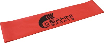 Sahni Sports Loop Light Resistance Band Red, Pack of 1 Sahni Sports Fitness Bands
