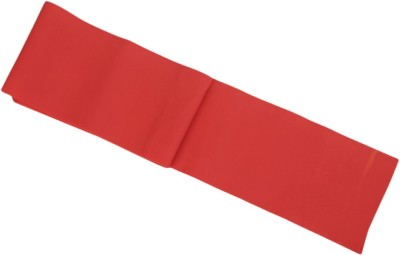 Health Track Latex Resistance Band Red, Pack of 1 Health Track Fitness Bands