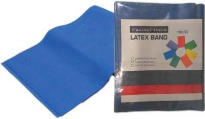 Proline Proline Fitness Latex Band Resistance Band(Blue, Pack of 1)  available at flipkart for Rs.157