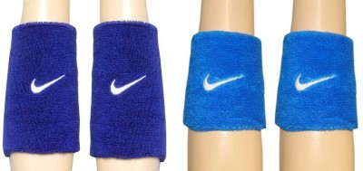 R Lon Wrist Support Fitness Band Blue, Pack of 4 R Lon Fitness Bands