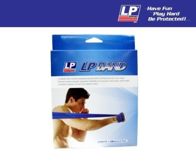 LP Fitness Accessories Resistance Band Blue, Pack of 1 LP Fitness Bands