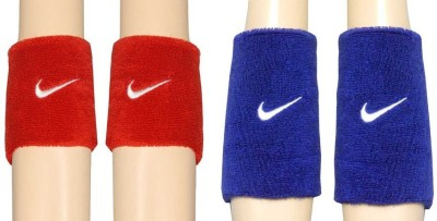 R Lon Wrist Support Fitness Band Red, Blue, Pack of 4 R Lon Fitness Bands