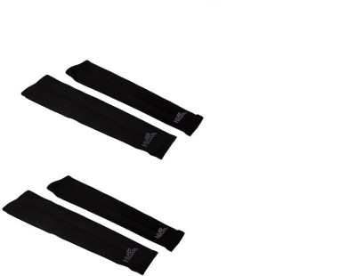 Gee Power Hi Cool Sunlight UV Protection Arm Sleeves (Set of 2 Pairs) Fitness Band(Black, Pack of 2)  available at flipkart for Rs.189