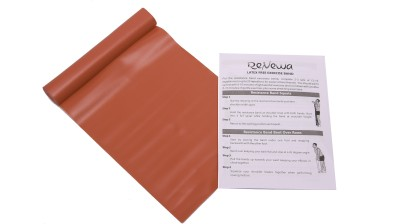 Renewa Latex Free Resistance Band(Red, Pack of 1)  available at flipkart for Rs.270