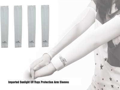 Gee Power Imported Sunlight UV Protection Arm Sleeves (Set of 2 Pairs) Fitness Band(Grey, Pack of 2)  available at flipkart for Rs.189