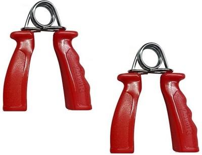 Gade Heavy Duty Plastic Handle Hand Grip/Fitness Grip(Red)