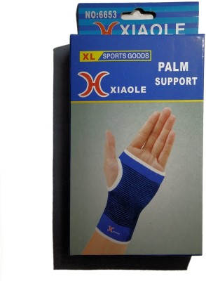 XIAOLE Palm Support Hand Grip/Fitness Grip Black, Blue