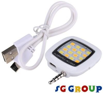 Sg Group 16 LED Mobile Selfie X300 Flash(White)