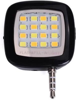 KONARRK 16 LED Selfie Flash Black