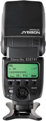Axcess Viltrox JY-680N Camera LCD TTL Speedlite Flash(Black) at flipkart