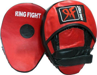 Ring Fight Curved Hook   Jab Curved Focus Pad Red, Black Ring Fight Boxing Focus Pad