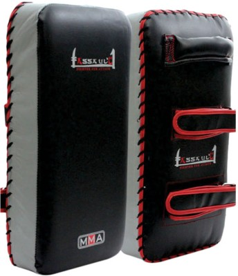 Xpeed MMA Straight Thai Pad Red, Black Xpeed Boxing Focus Pad