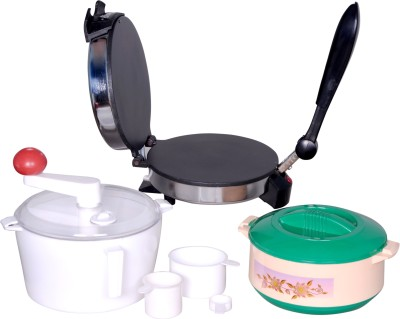 Royal RMH Roti/Khakhra Maker(Silver) at flipkart