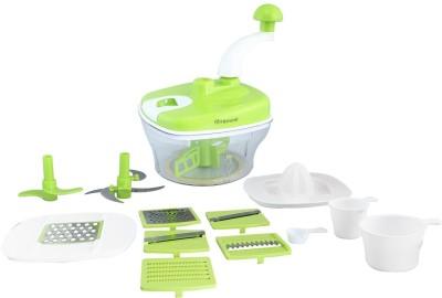 Floraware Green 14 pieces Chopper, Blender, Atta Maker, Food processor and Food Slicer(Green) at flipkart