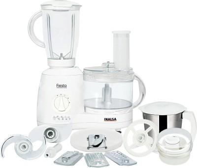 Inalsa fiesta 650 W Food Processor(White)