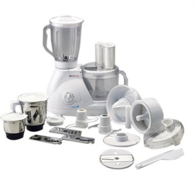 Bajaj FX 11 600 W Food Processor(White) at flipkart