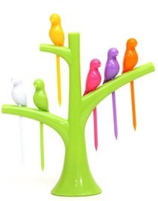 A To Z Sales set Plastic Fruit Fork at flipkart