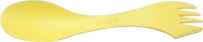 NANI NANI'S BIG SPOON (SPOON + FORK + KNIFE) [YELLOW] (PACK OF 25) Plastic Soup Spoon, Ice-cream Spoon, Serving Spoon, Dessert Spoon, Salad Spoon, Table Spoon, Cheese Spoon, Sugar Spoon, Cream Spoon, Tea Spoon, Yoghurt Spoon Set(Pack of 25)  available at flipkart for Rs.180