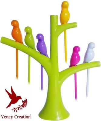 Vency Creation Polypropylene Fruit Fork Vency Creation Forks