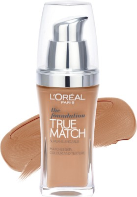 Loreal Paris True Match Super Blendable Makeup Foundation, Rose Sand C5, 30 ml